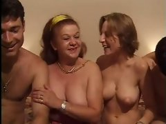 FRENCH CASTING 26 rectal attractive mature and 18yo young woman with 2 men