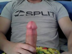 jerking my fat pecker