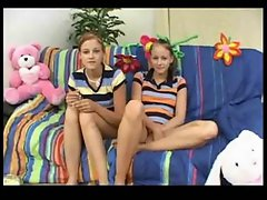 Twin Luscious teen Babysitters Earn A Bonus