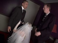 Blond Bride Fucked