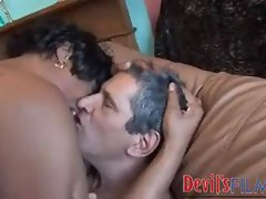 Attractive white shaft banging the black whore