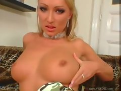 He screws the marvelous blond cutie brutal