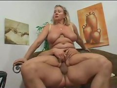 Riding dick is the sexual aunt with the big body