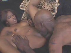 Wild Seductive indian young woman banged by ebony man