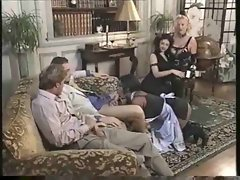 Group party in elegant house with cumshots and screwing