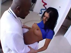 Sativa Rose loves ebony pecker inside her