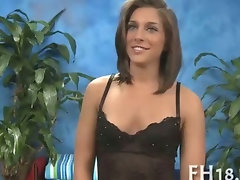 Randy attractive young woman bangs