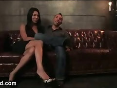 Enormous melons and butt transvestite bangs lad in bdsm