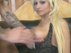 Aged blond ready for wild porn or so she thinks