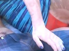 Housewifes gooey wet creampie