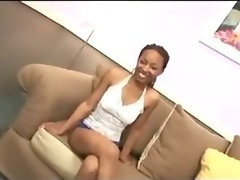 Ghetto Luscious teen Cutie Rammed With White Mamba