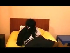 African Seductive teen Butt Banged Interracial