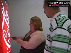 Open Snatch Obese Fatty Belly Giant Knockers Yells For Shaft Part 1