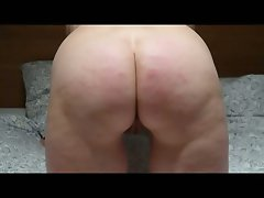 caned by another fellow whilst husband films