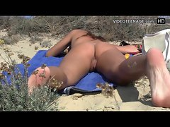 amateur saucy teen nudist at beach