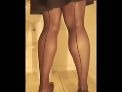 TGirl Soaked Knickers 224