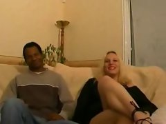 Casting 2 French Sensual blondes 1 ebony man
