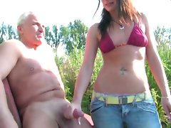 german dominant lass handjob