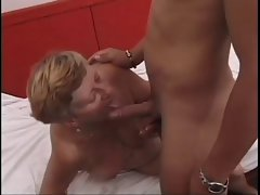 short Haired Granny Bangs A 19yo Shaft !