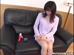 Asian learns to enjoyment her snatch
