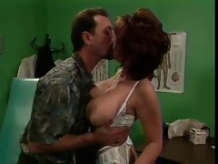 Sexual doctor lady banged by a patient