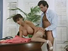 Randy boss bangs his buxom secretary