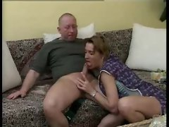 Attractive German lady banged by the gardener