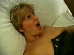 Stockings mum has a craving for huge pecker