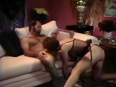 Porn film from the 80s with lusty sex