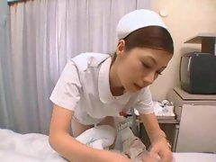 Jap nurse treats him with filthy banging