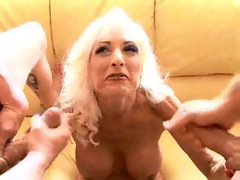 Cougar compilation with lots of cumshots