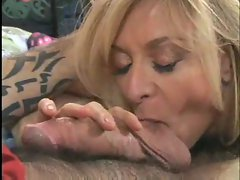 Cougar with milky white skin nailed brutal