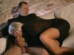 Euro tempting blonde is intensely beauteous and aroused