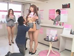 Sensual japanese slutty chicks frozen in time and used