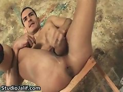 Carlos Perez jerking his massive gay gay porno