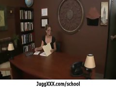 Big melons cutie get screwed at school - Rough sex episode 6