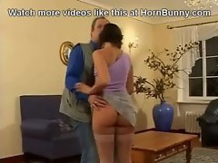 Dad has sex with his own daughter - HornBunny.com