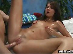 Sensuous wild oil massage for this part1