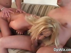 Delightful episode with attractive tempting blonde chick part6