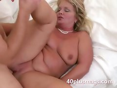 Buxom 40plus gets first facial