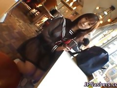 Free jav of Mikan Stunning Asian student part2