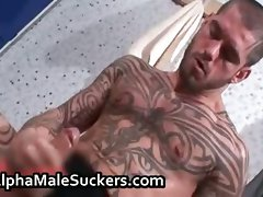 Dirty gay screwing and stroking porn part4