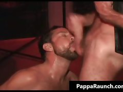 Extreme gay wild stunning anal screwing S and M part5