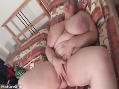 Plumper big titted attractive mom with glasses part3