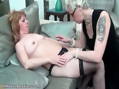 Sensual lezzy with glasses is fellatio part2