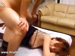 korean tatooed hussy asshole banged