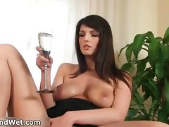 Extremely filthy and kinky dark haired slutty girl Cynthia part5