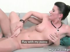 Luscious and alluring woman porn agent find enjoyment in part4