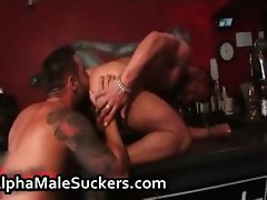 Sexual gay dirty banging and licking part3