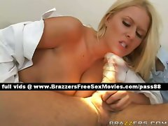 Verry lewd blondie dentist on her chair
